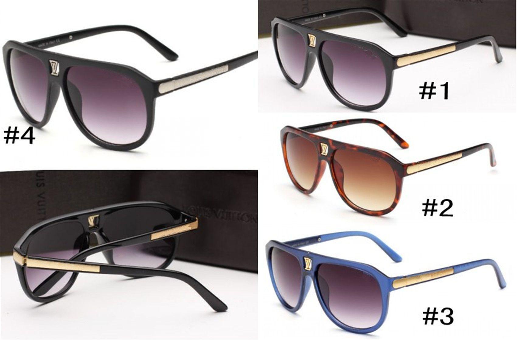 MOQ = 10pcs, French 9018 Mode Designer Brand Sunglasses Femmes Hommes Beauté Big Cadre Eyewear Femelle Ombre Summer Goggle Verres de plage