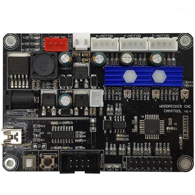 Tuyaux électriques CNC Mini Gravure de la machine de contrôleur de machine de gravure 3 axe GRBL GRBL Port USB Control V3.4 pour CNC3018 3018PRO1