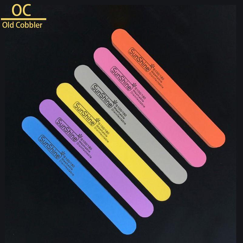 Old Covbler مخصص أدوات الأظافر الإسفنج ملف لون الأظافر شرائط البولندية شرائط شعار التخصيص والبيع بالجملة شحن مجاني