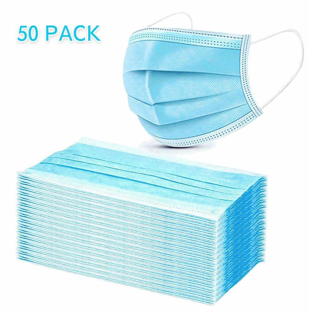 3Ply Face Filter Pm2.5 Disposable face mask Hot sale products wholesale level 2 level 3 mask