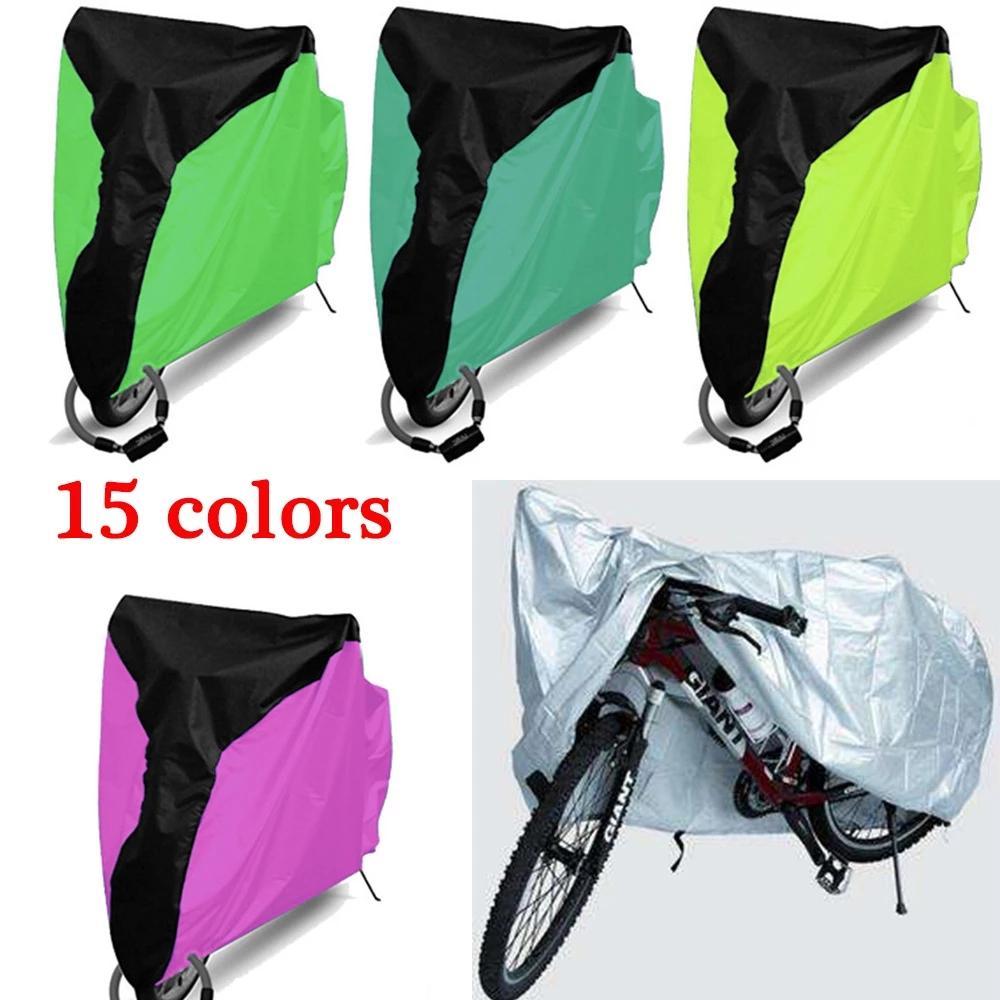 ماء دراجة غطاء المطر الغبار غطاء دراجة الأشعة فوق البنفسجية واقية للدراجات دراجة المساعدة ركوب الدراجات في الهواء الطلق غطاء المطر 4 الحجم S / M / L / XL