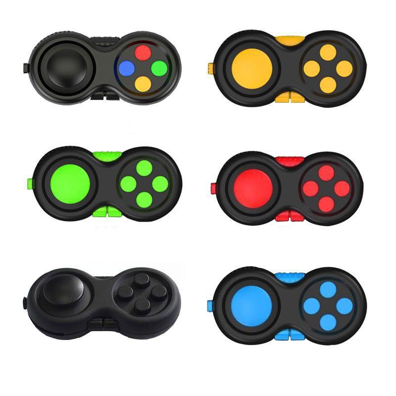 Fidget giocattolo pad di seconda generazione puzzle cubee mano gambo game controller stress solly finger decompressione ansia decompressione joystick giocattoli giocattoli