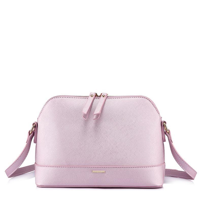 LoveVook Messenger Bags for Donne Borsa a tracolla a tracolla Borsa femminile Borse da donna Borse da donna 2020 Piccola conchiglia avvolgibile ad alta qualità PU
