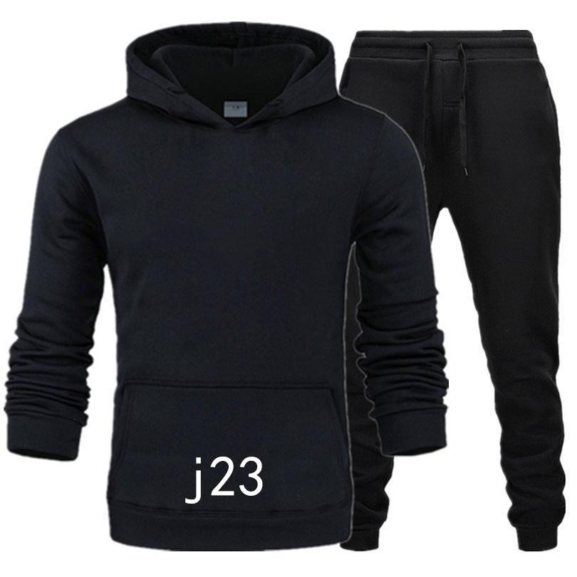 Neue Marke Kleidung Herren Pullovers Baumwolle Männer Trainingsanzüge Hoodie Zwei Stücke + Hosen Sports Shirts Herbst Winterspuranzug C1117