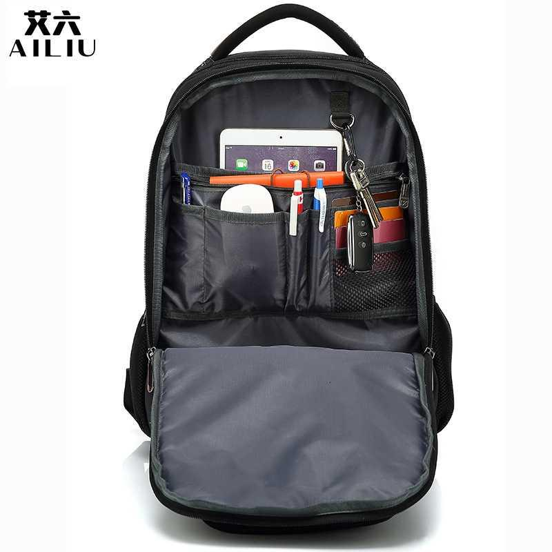 backpack schoolbag 2020 men's new middle business school girl's Backpack Travel men's large capacity computer backpack