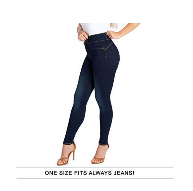 2020 Taille elastische Jeans Frauen Hohe Qualität