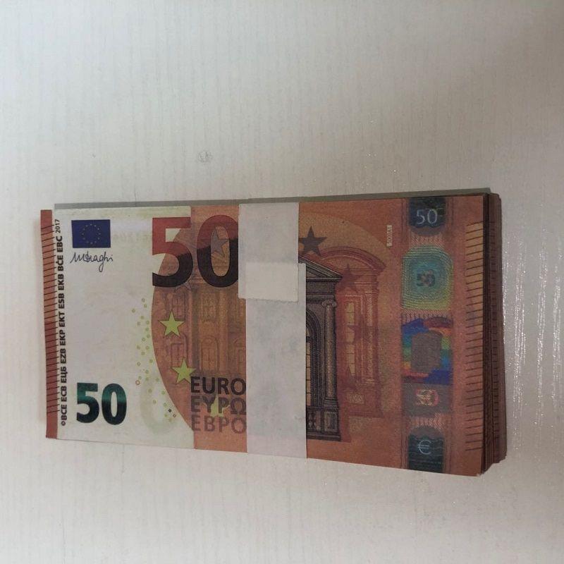 MV-Party-Prop-Atmosphäre LE50-22 Banknote Hot Prop-Schießspielzeug-Kopie Euro QFVSL gefälschte Bühnenleiste 50 Fälschung Ajxou
