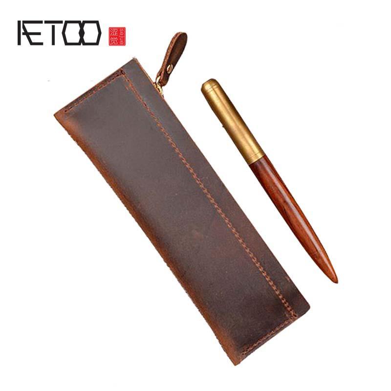 Sac en cuir Vintage stylo HBP AETOO PBRAM