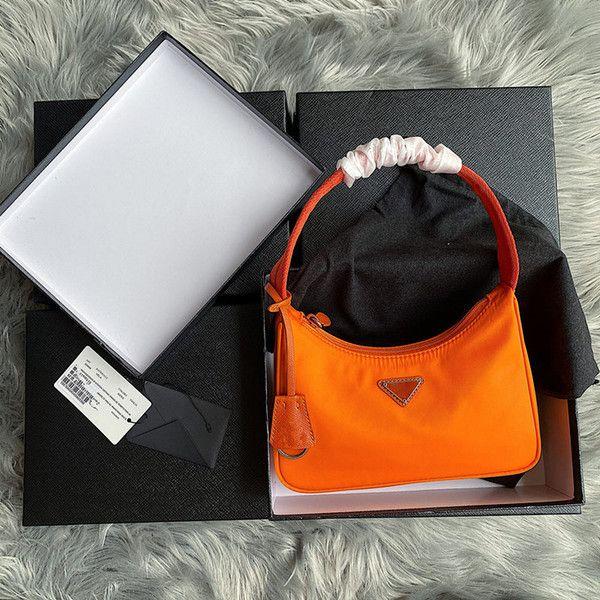 Sac de sacs de concepteur de sacs à main 2021 Nouvelle qualité réédition fourre-tout en cuir nylon épaule supérieure épaule femme sac de luxe sacs féminin hjvw hjvw