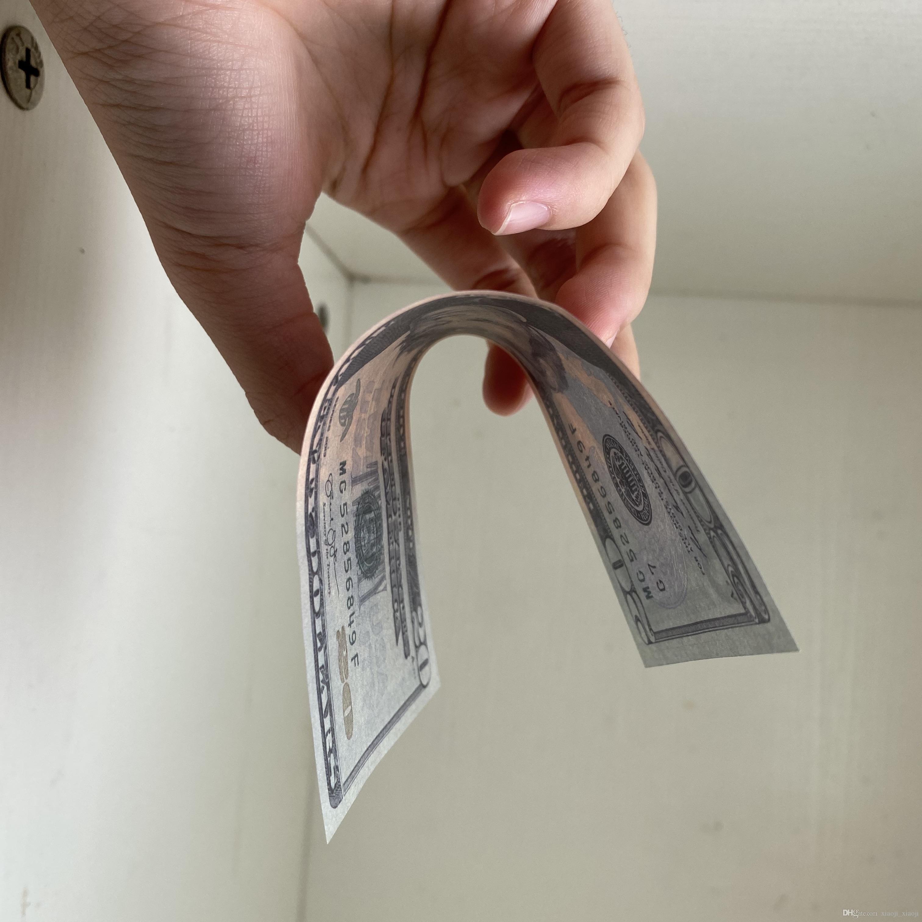 016 Movie Money Quality Prop Best Fake Money Film Fake Money Contado 20 para al por mayor Niños Dollor Video Decoración de Hogar PTGDG