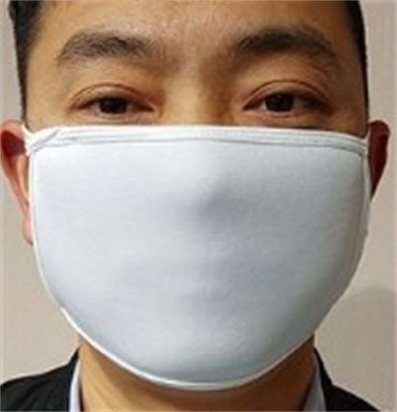 Маска для сублимационного лица со взрослыми пробелами FY Kids Diy Pocket может поставить PM2.5 в пыли, предотвращение запасов фильтра передач печати прокладка QLVSO