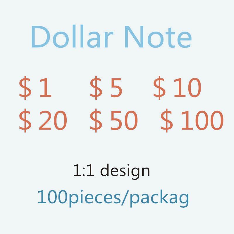 Das neue 100 heißer Simulationspapier Währung gefälschte Geld-Dollar-SPOOF-Spiel-Währung-Währung, die T-T-TOKE 138 zählt