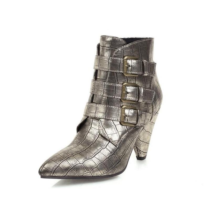 2021 Nuovi tacchi alti alla moda tacchi alti TOE Black Gold Size 43 2kyl