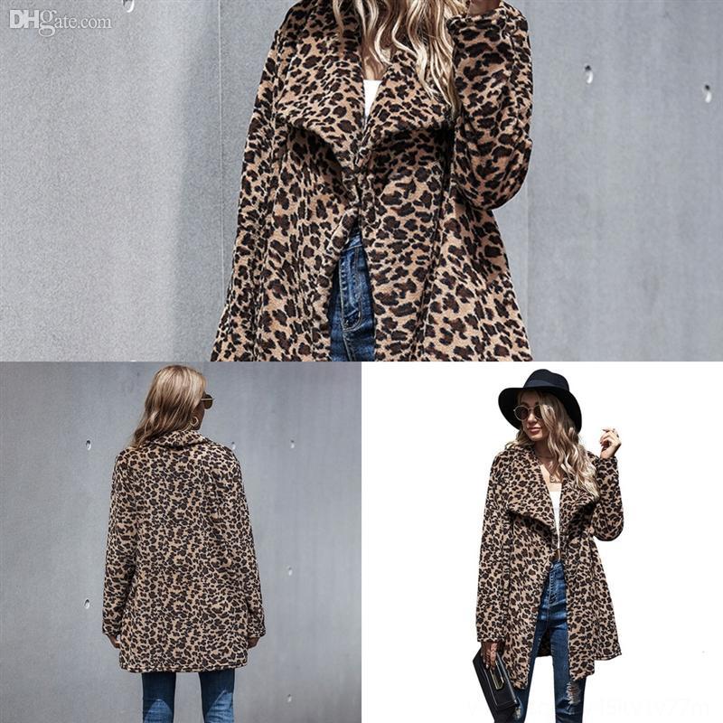 3AJ3Z Oberbekleidung Gitterjacken Jungen Mädchen Wollgraben Baby Boybreasted Mantel Revers Kragen Winter Long Down Mantel Elegante Ove Kinder Leoparden