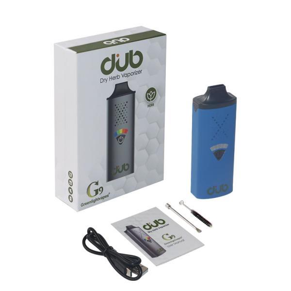 G9 DUB Kiti Kuru Herb Buharlaştırıcı 1200 mAh Preheat Pil 5 Seviye Sıcaklık Kontrolü 1.3ml Atomizer
