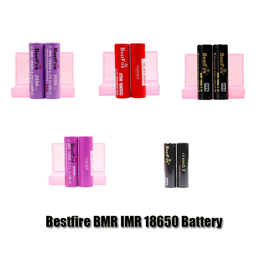 Оригинальный BMR BMR IMR 18650 батарея 2500 мАч 3000 мАч 3100 мАч 3200 мАч 3500 мАч 35a 40a аккумуляторный литий Vape MOD аккумулятор