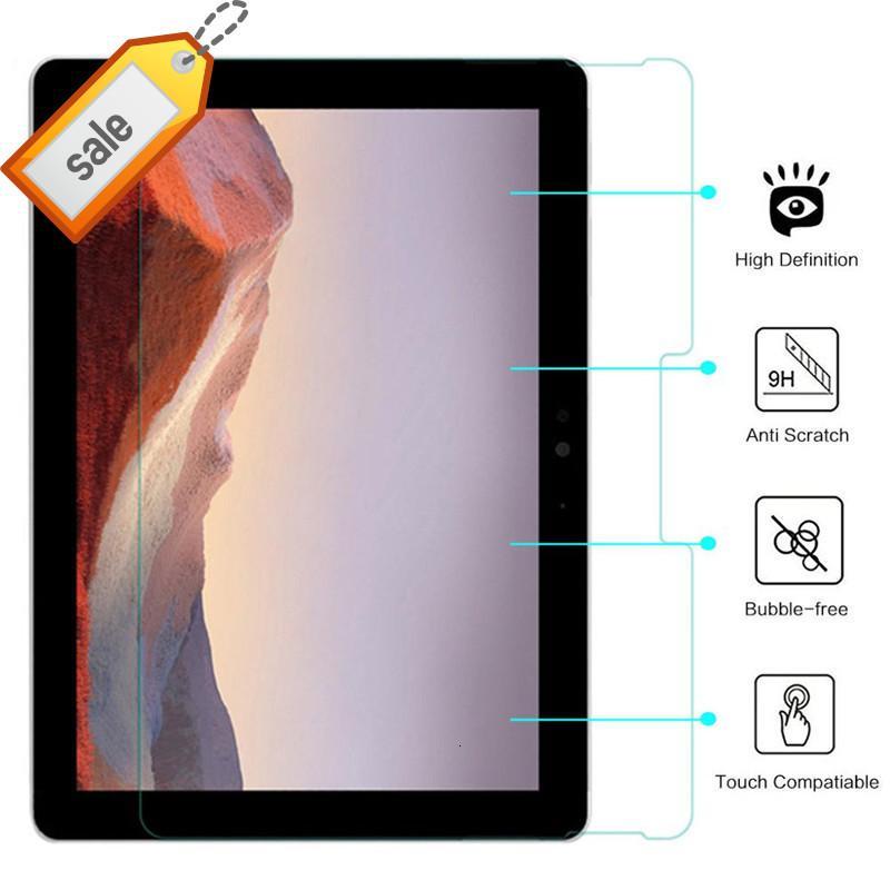 """9h الزجاج المقسى ل Microsoft Surface Go 2 10.5 """"اللوحي حامي شاشة الكمبيوتر اللوحي لسطح جديد Go2 كمبيوتر محمول فيلم واقية"""