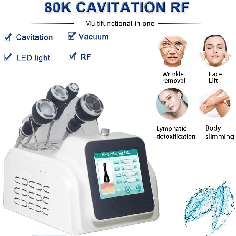 Super slim fast cavitation slimming system ultrasonic body liposuction cavitation ultrasonic rf face lifting equipment body care