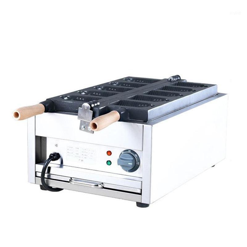 Jamielin Commercial No-Stick Bell En forma de Waffle Maker Máquina de hierro Campana eléctrica En forma de Mini Taiyaki Maker Machine1