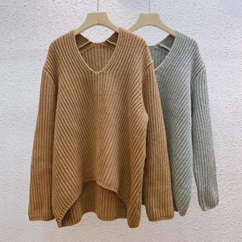 Frauen Pullover 2020 Herbst- und Winterwolle lose Pullover Wolle Pullover Frauen