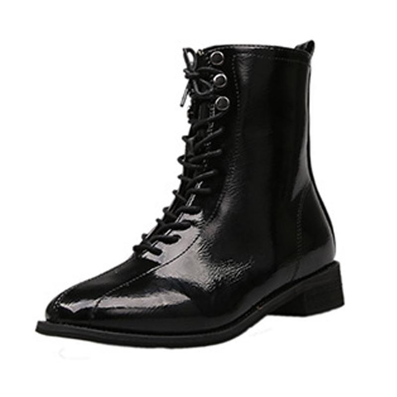 2021 otoño e invierno nuevas botas de moda casual retro botas para mujer