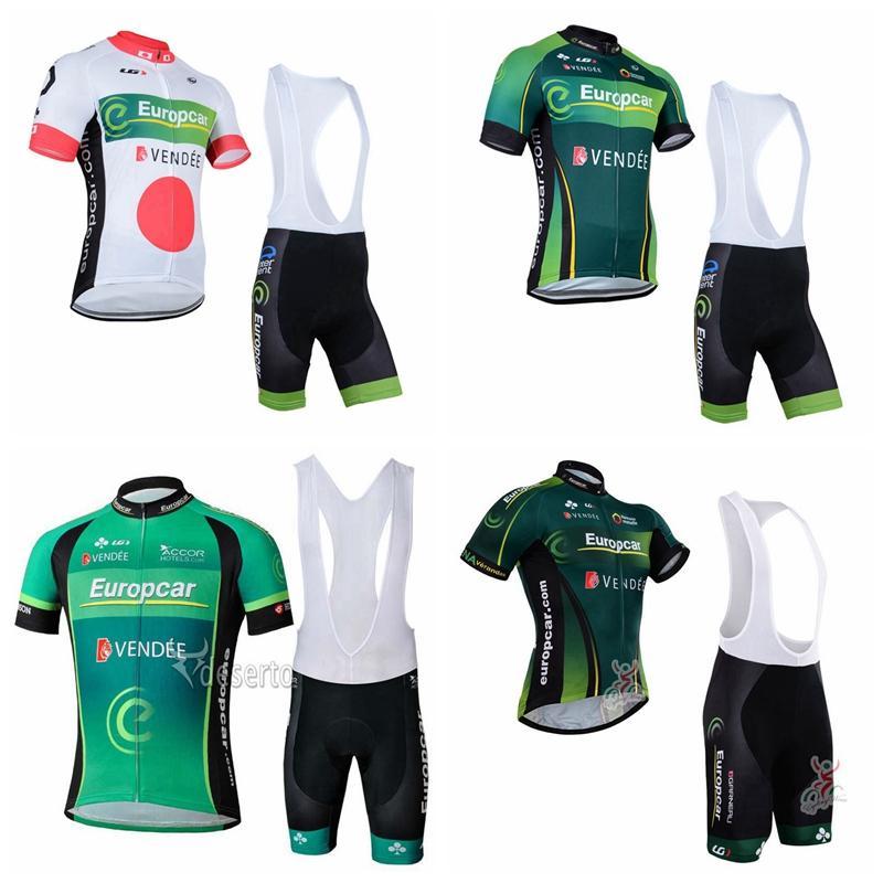 EUROPCRA team Pro Cycling Short Sleeves jersey bib shorts sets mens bicycle clothes uniform MTB Racing clothing Ropa Ciclismo 102314