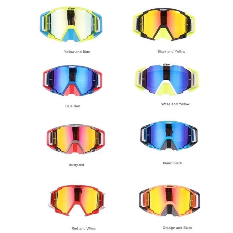 Gafas de motocicleta Cool Knight Cross-Country Riding Downhill Racing Casco Goggles Set de una pieza Gafas de sol deportivas