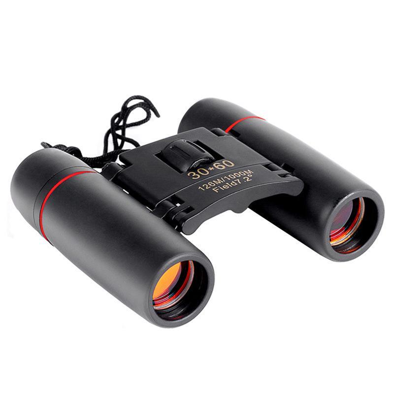 30x60 Увеличить телескоп Складных Бинокли Low Light Night Vision для Открытых Птиц Путешествия Охоты Кемпинг 1000m X389b
