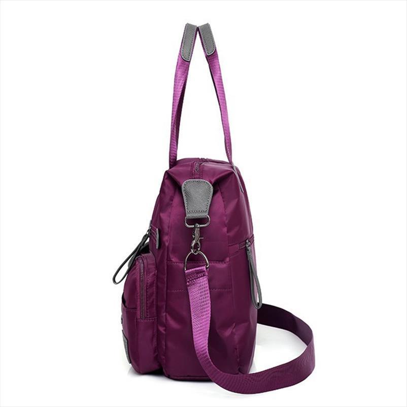 جديد وصول النايلون النساء رسول حقائب عارضة سعة كبيرة السيدات حقيبة يد الإناث حقائب الكتف crossbody للماء