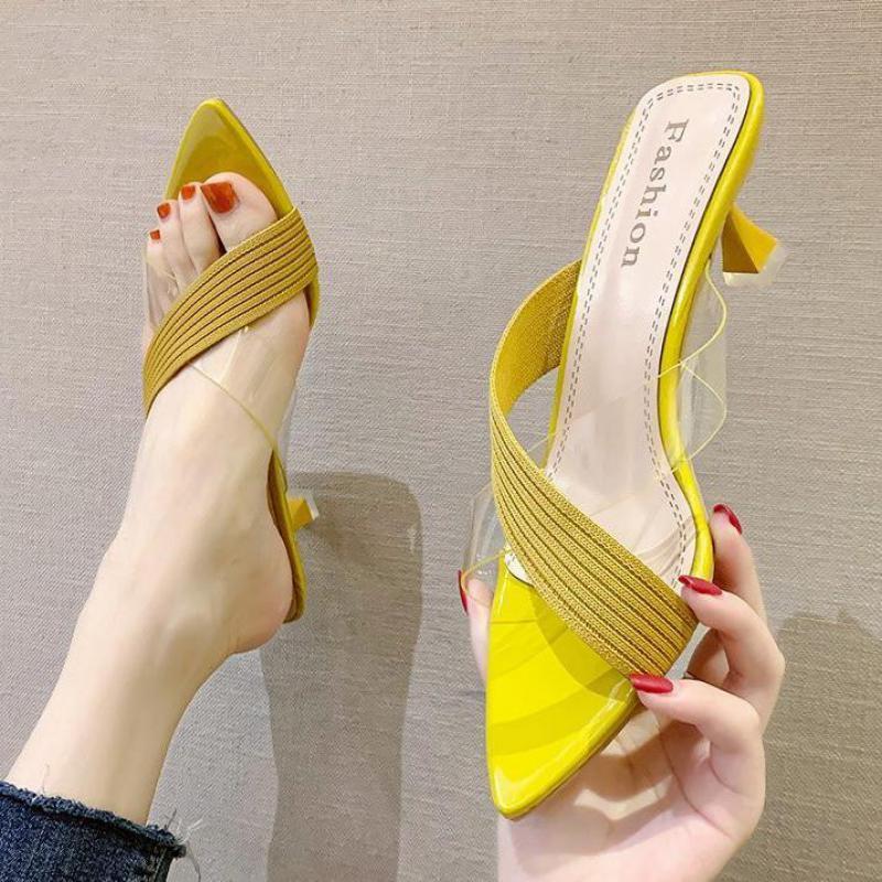 2020 Летние Классические Обувь Слайды Открытый Тапочка Женщина Заостренные Новые Обувь Роскошные Дизайнерские Обувь Запатилла Casa Mujer Invierno X1020