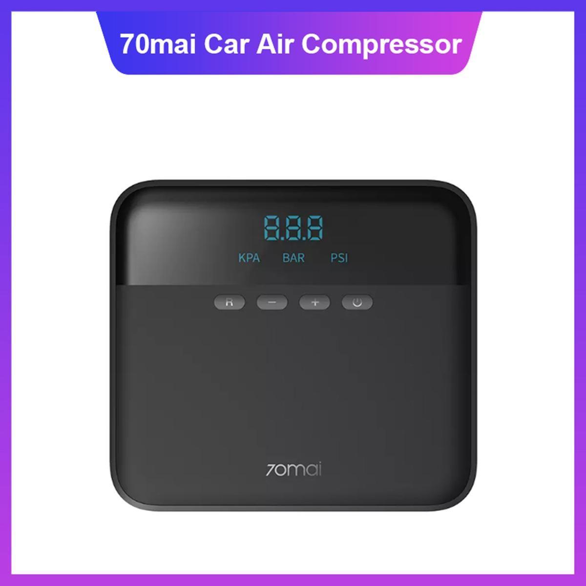 70 Mai Air Compressor Lite 12V 70 Mai Protable Air Pump Air Pump Air Mini Compressor Pneumatici Pneumatici Pneumatici Auto PUM PUMB