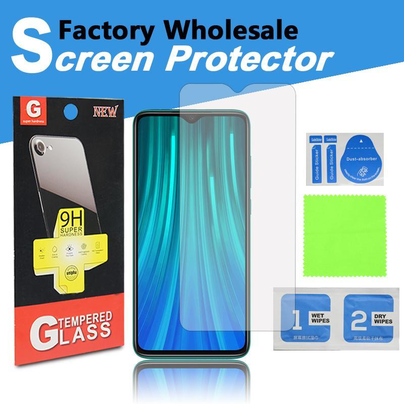 Usine de cadeau de Juze en gros DHL Livraison gratuite Verres trempé Protecteur d'écran pour iPhone Samsung Huawei avec boîte en papier