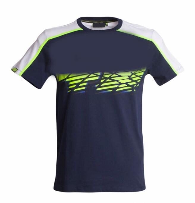 Nueva camiseta de la motocicleta verano de la motocicleta de verano Poliéster de la ropa de secado rápido de los fanáticos de la velocidad de la velocidad de montar a través del país se rinde la manga corta Shir