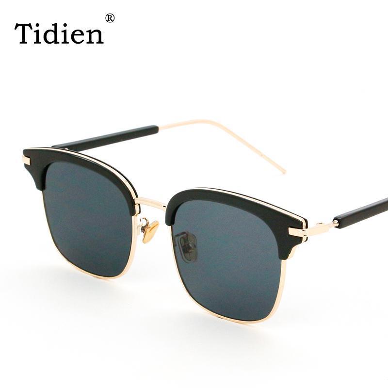 Spiegel Vintage 2020 Hälfte Felge Frauen Frauen Sonnenbrille Kunststoff Metall 1319 Einkaufen Klassische Angel Eyewear Retro Tidien Rirqa