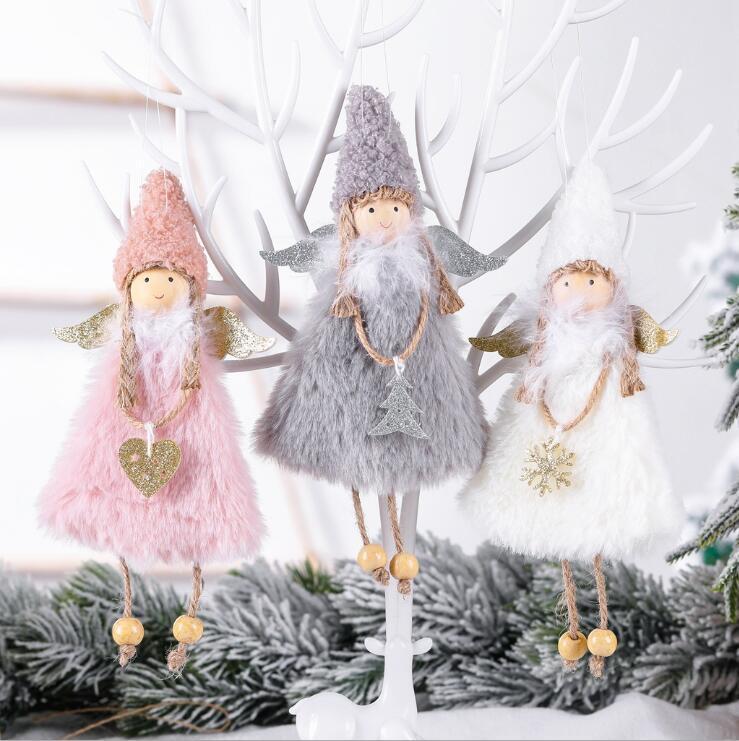 Chaud New Love Angel Décorations de Noël Angel Creative Noël Arbre Pendentifs Cadeaux Pour Enfants Accueil Décoration DHL Livraison Gratuite