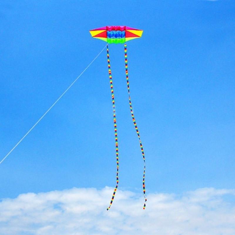 Freies verschiffen radar fliege outdoor spielzeug parachute für erwachsene adler kite line moscas open bessere kites reel fabrik 200928