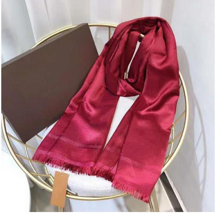 Cashmere Silk Écharpe Pashmina Fashion Hommes Femmes Automne Hiver Soft Châles Soft Écharpes Lettre Écharpes Taille 180x70cm Cadeaux Factory Vente de haute qualité