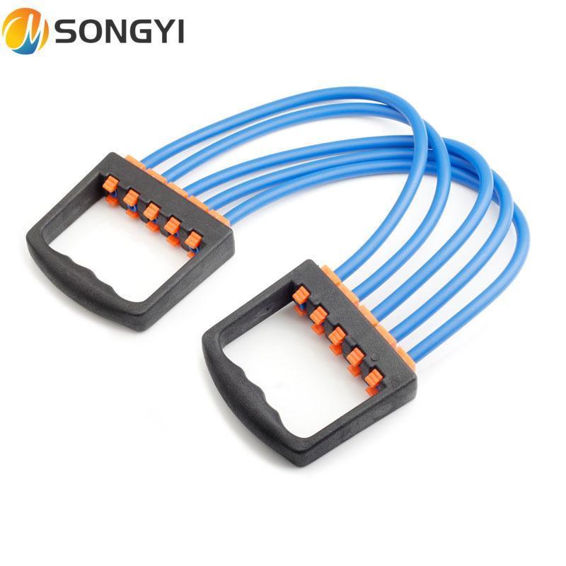 Bandas de resistencia Songyi 2021 Tensor de látex Cinco caucho desmontable Expansor de cúbito de yoga Cinturón de tensión de la fábrica de ventas directa Equipo de fitness