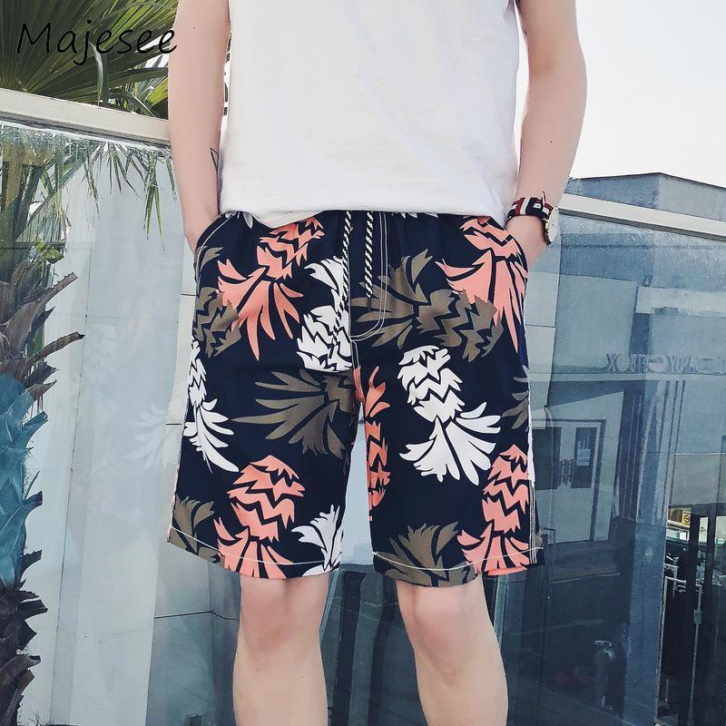 Pantalones cortos para hombres para hombre de secado rápido, hombres cortos, casual, playa, primlado, impresión transpirable, cintura elástica, con cordón, diversión, varios colores, chic