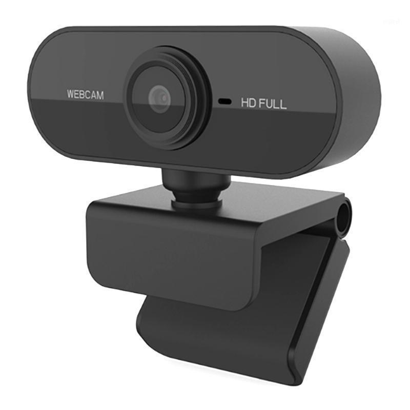 Webcams rotatable USB Web Camera 1080P HD on-line embutido microfone de absorção de som para computador de computador portátil11
