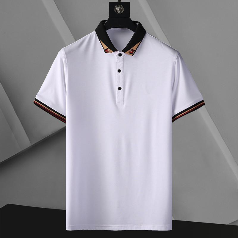 Designer Designer POLO T Shirt Summer Maniche corte Doppia Giù Colletto a maniche corte Top POLO SHIRTS 2S