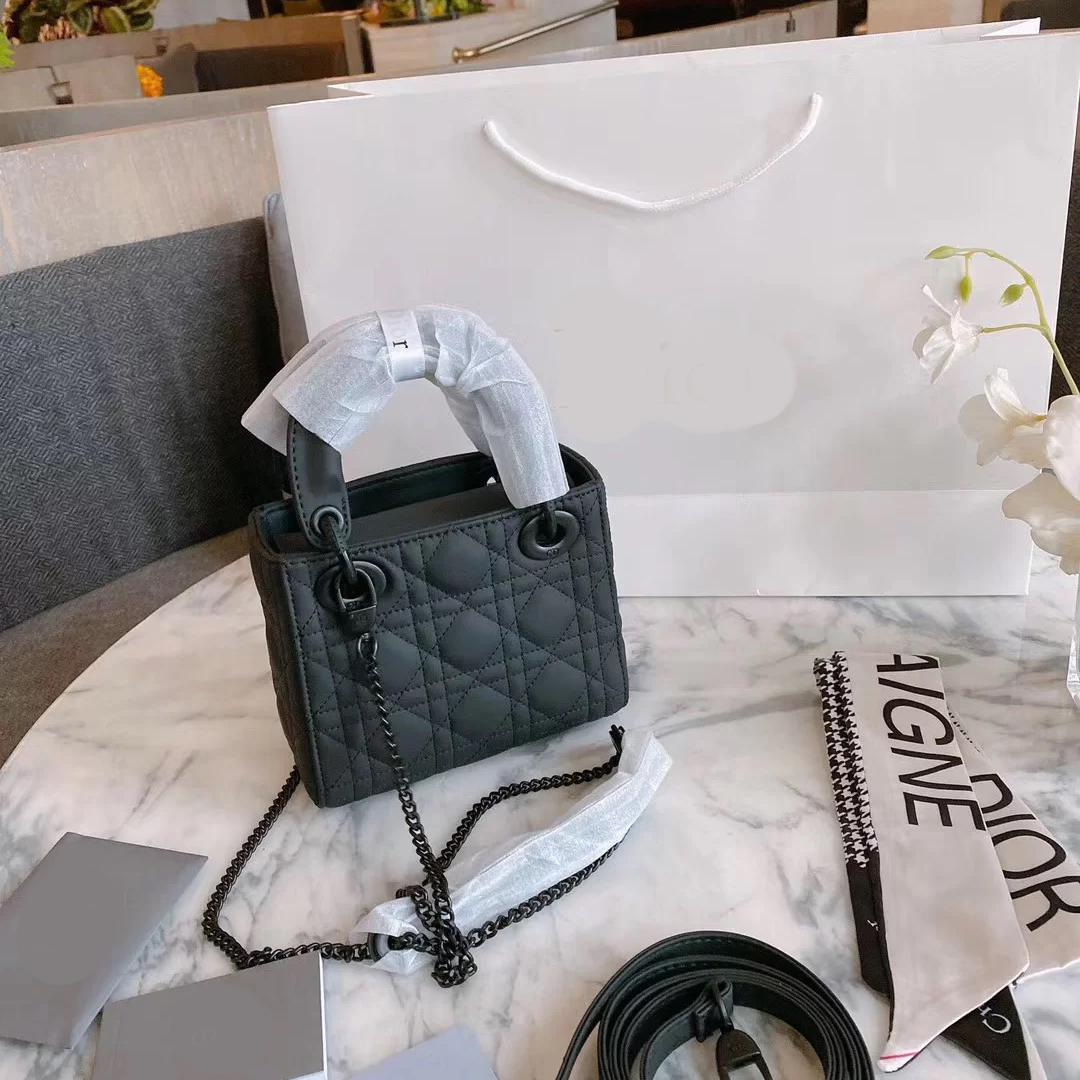 أعلى مبيعا نمط داي فاي حقيبة الإناث 2020 جديد المد الأسود الخريف والشتاء الأزياء مهرج الفولونج مزاجه حقيبة crossbody