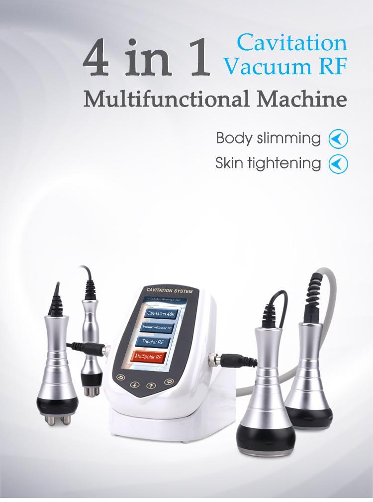 Operação fácil 40kultrasonic Cavitação de vácuo Máquina de beleza de vácuo esculpir a máquina de emagrecimento do corpo rápido para perda de gordura de peso