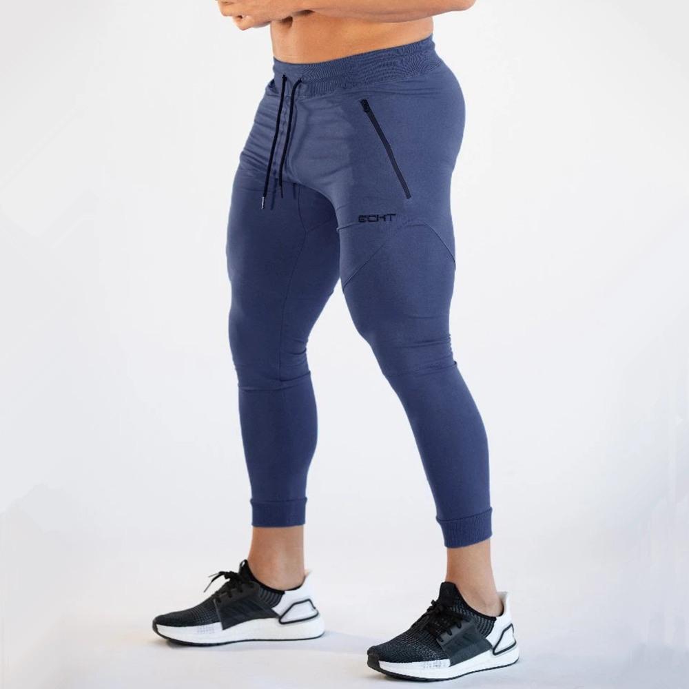 Gym dünne Jogger Hosen Herren Jogging Jogginghose Fitness Bodybuilding Trainingstrainingshose Sportkleidung Männlich Baumwolle Jogginghose C1118