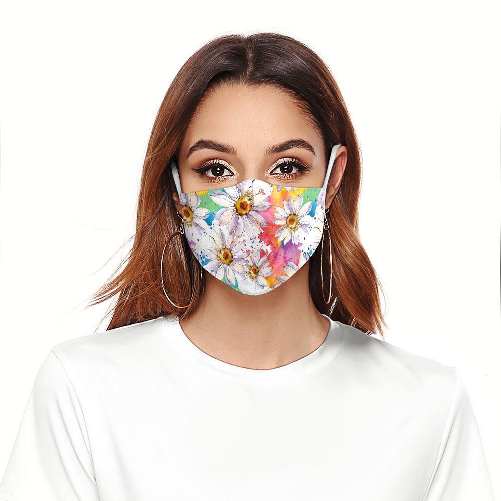 3D заводские защитные дети весело мужчины многоразовые женщины рот маска для лица маска ткани FaceeMask моющийся хип-хоп вечеринка Magic D329
