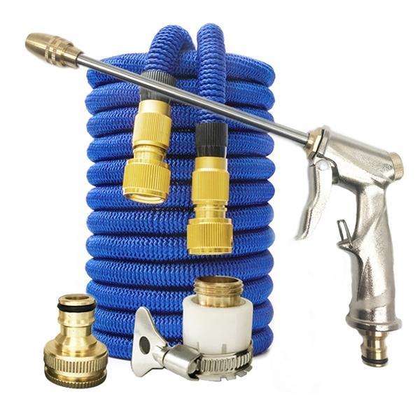 Kit de jardín Manguera de riego mágica con arandera de alta presión ARMADURA ARMA Spray Tool de limpieza ajustable 1008