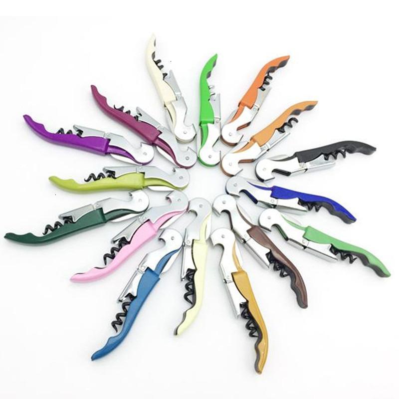 Couteau d'usine Couteau Multi-fonction Wine Acier inoxydable Ouvre-bouteille Tap Tap Tap Tap Table à tire-bouchon à charnière Creative Promotaro
