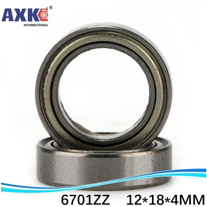 10pcs free shipping The high quality of ultra-thin deep groove ball bearings 6701ZZ 61701ZZ 6701-2RS 12*18*4 mm1
