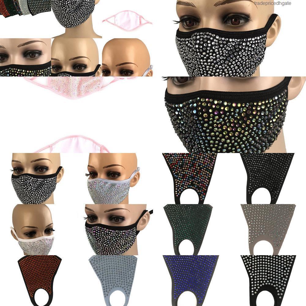 Masque de protection de protection anti-poussière Masque de protection anti-poussière Masque de masque de la bouche lavable réutilisable 3x1n rb3f