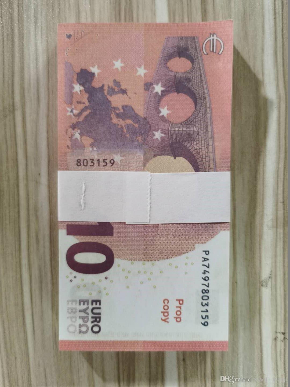Фильм фальшивый специальный бар зрелищный этап евро бумага дети опоры взрослых игра игрушка-088 копия денег рек евро валюта lpsjr